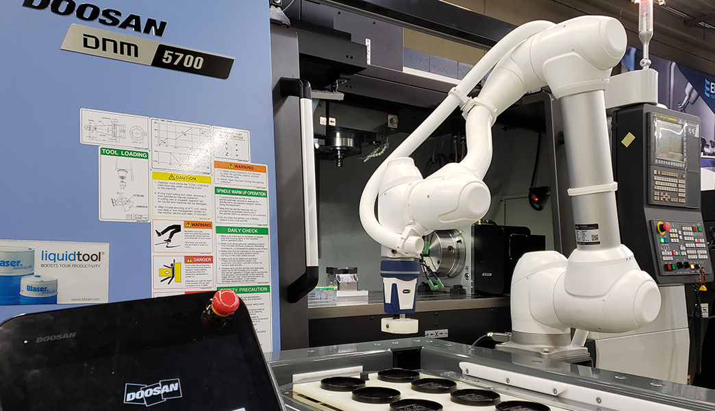Freshly Installed – Doosan Cobot Automation Cell